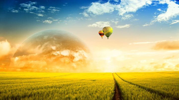 Sometimes you just need to take a hot air balloon ride above your problems where you can get some space and gain perspective before returning to make changes.